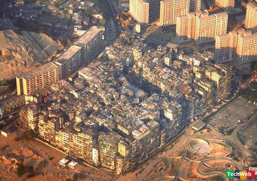 홍콩 구룡채성(九龍寨城) : 세계최고의 인구밀도