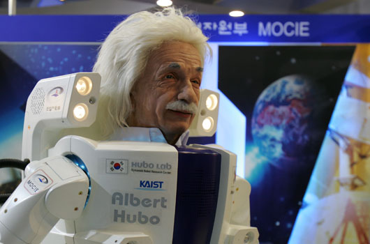 South Korea's Albert Hubo Robot (Source: Hanson Robotics)
